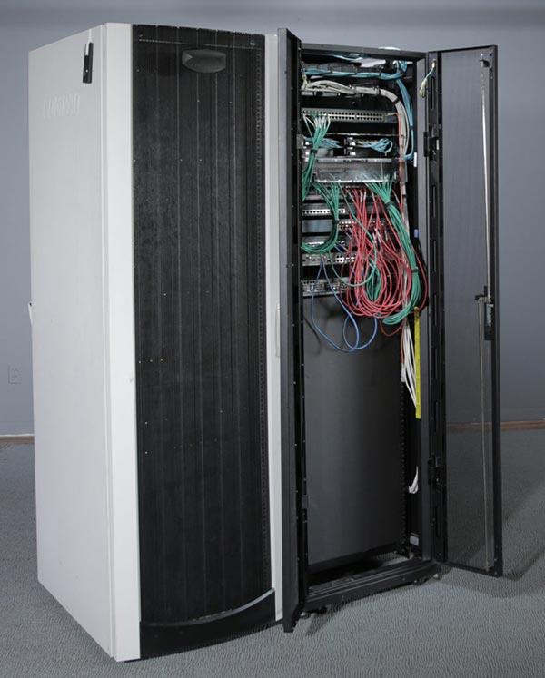 Hired Design Studio: Data Center Server Stage Set For Hire, Studio Design